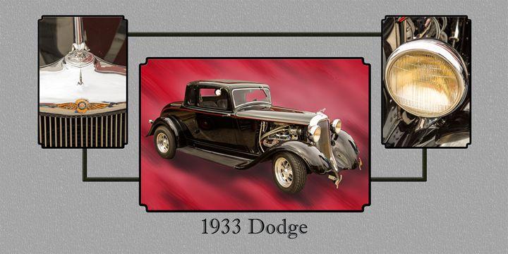 1933 Dodge Classic Car 5565.33 - M K Miller III