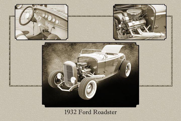 1932 Ford Roadster  5564.13 - M K Miller III