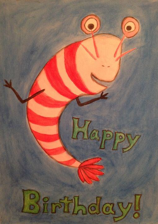 Birthday Shrimp - Capricious