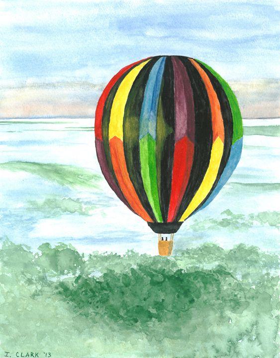 Hot Air Balloon 1 - Ingrid Clark
