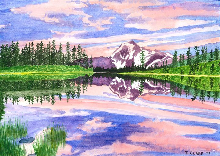 Mt. Shuksan (North Cascades N.P.) - Ingrid Clark