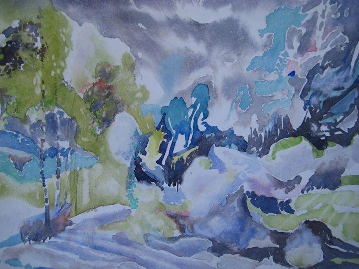 galicia - jose perlado-watercolors