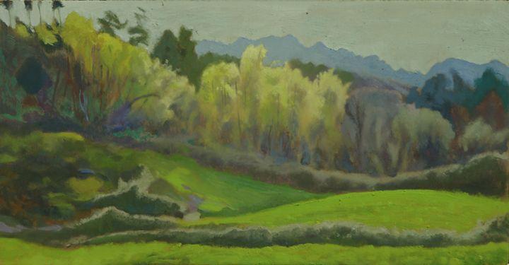 sierra de Cuera - jose perlado-watercolors