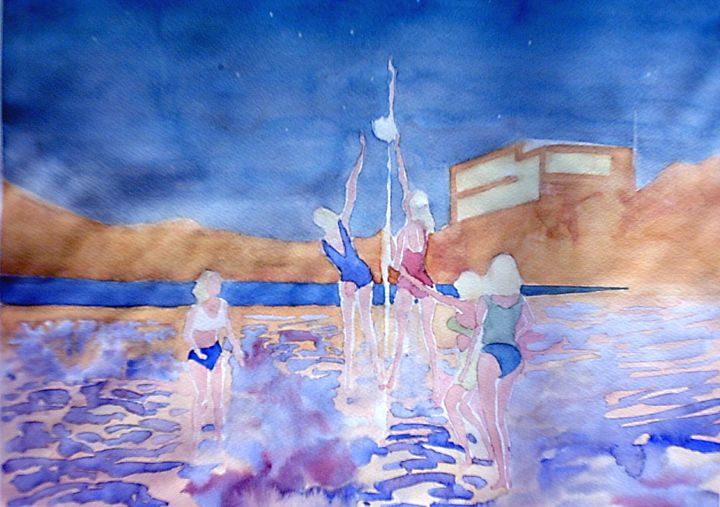 swedish girls - jose perlado-watercolors