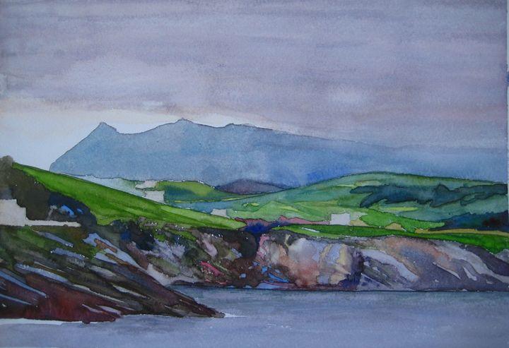 coast at Llanes, Spain - jose perlado-watercolors