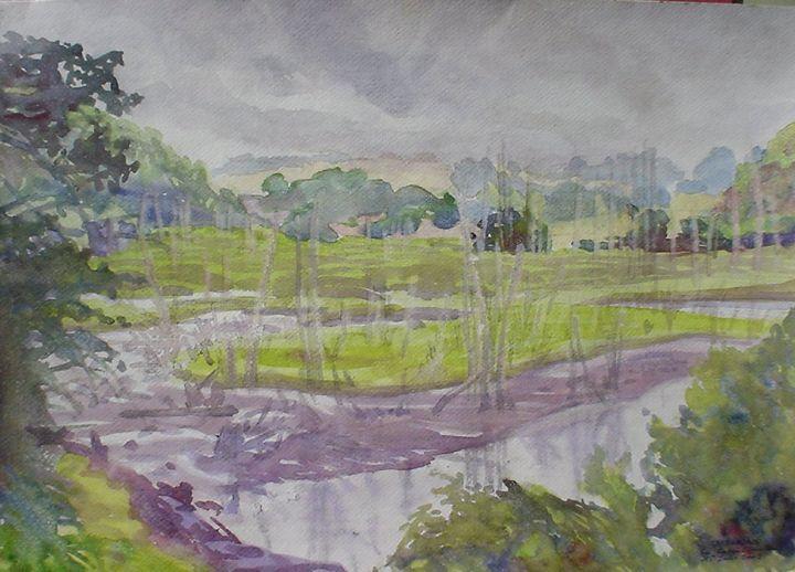 Rabia stuary - jose perlado-watercolors