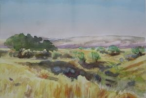 Moraleja de Enmedio, Spain - jose perlado-watercolors
