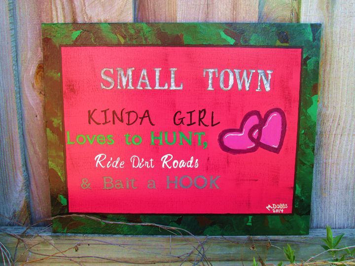 Small Town Country Girl - M. DOBBS ORIGINALS