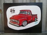 1956 Ford f-100 Painting