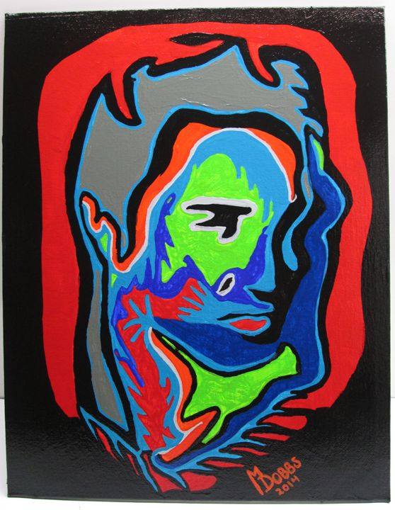 ELVIS PRESLEY MODERN ABSTRACT - M. DOBBS ORIGINALS