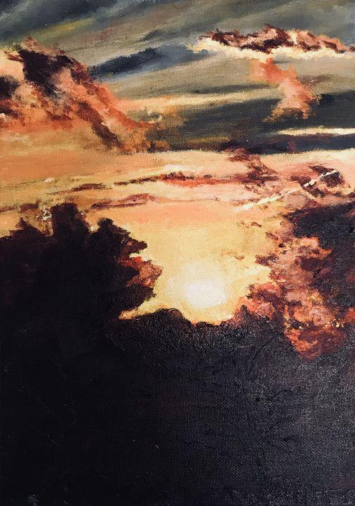 bright at sundown - rebecca