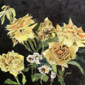 Wilting roses - rebecca
