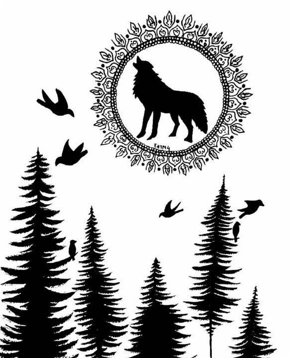Moonlight fox - Artistry