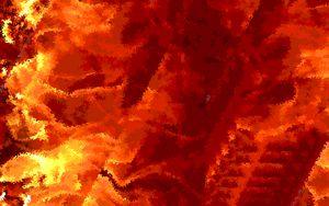 Perierat, et in Flammis