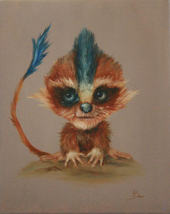 Little Troll - Schaap Art