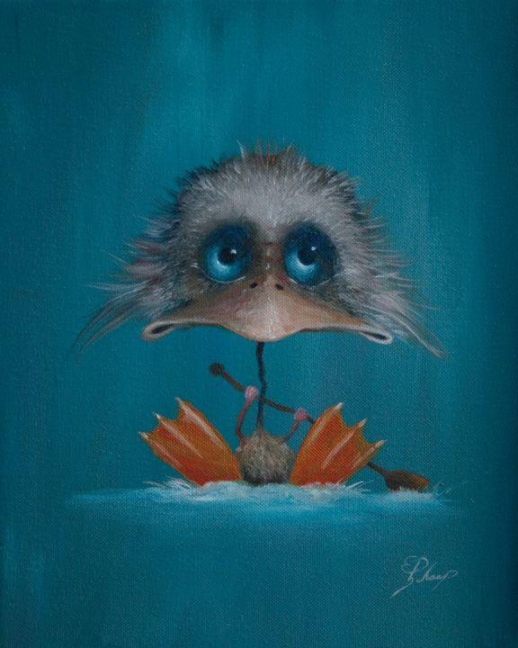 Duckling - Schaap Art