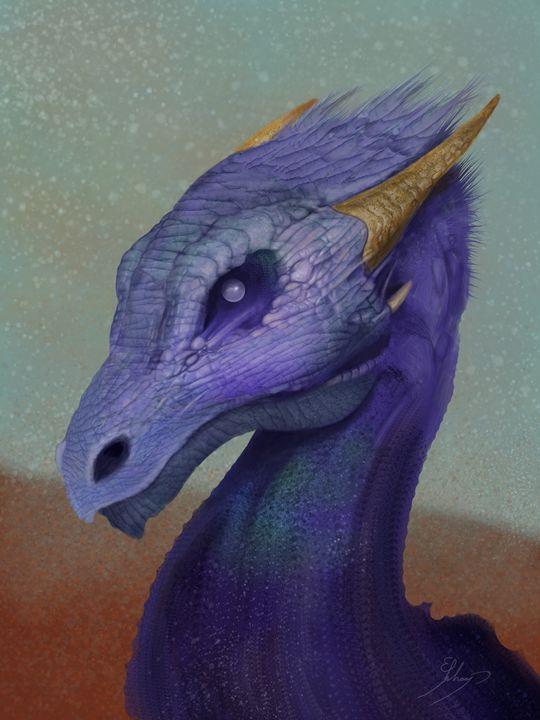 Pearl Eye Dragon - Schaap Art