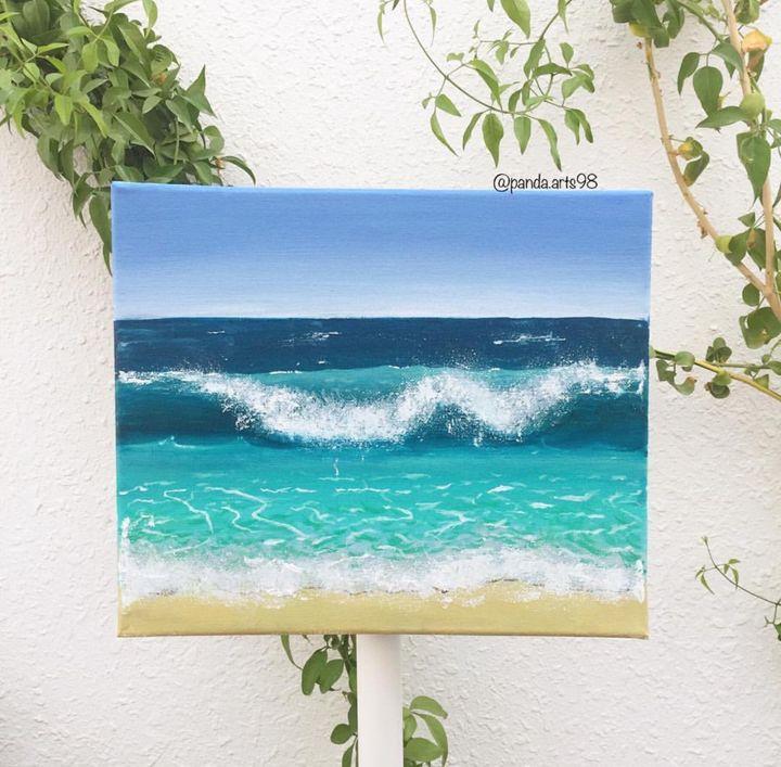 Dreamy beach - Panda.arts98
