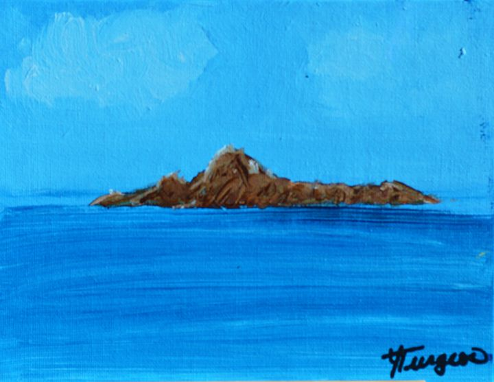 Island - Art by Yvonne Turgeon