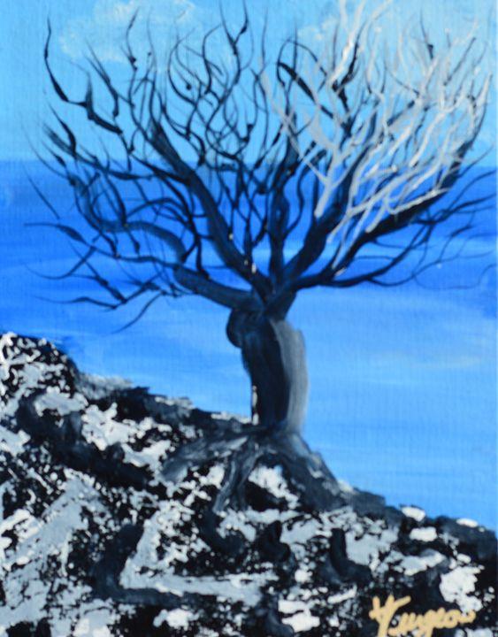 African Tree - Art by Yvonne Turgeon
