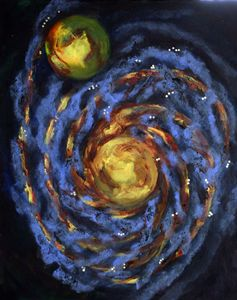 Central Heliosphere Spiral Fractals