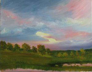 Sunset Marshes