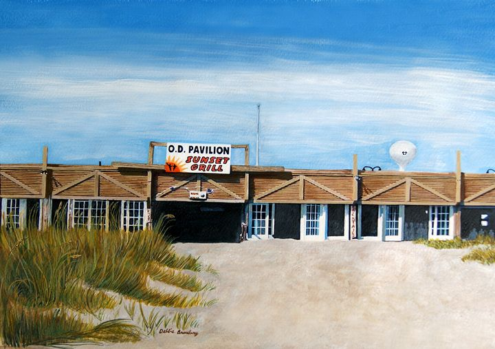 """O.D.Pavilion-Where It all Began"" - Debbie Broadway Art Studio"