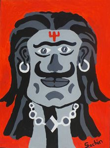 The master of rakshasa (Asura)