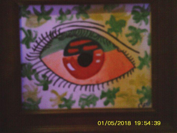 blacklight eye - Christopher Forney