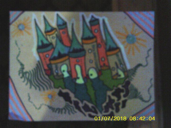 blacklight castle - Christopher Forney