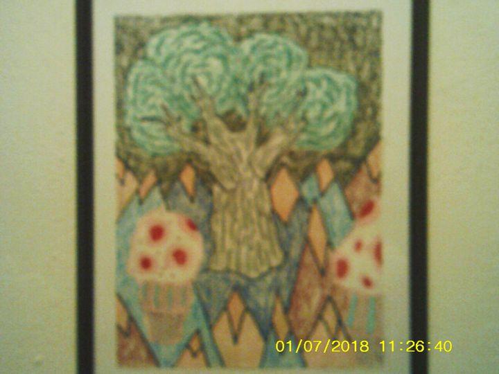 psychodelic tree - Christopher Forney