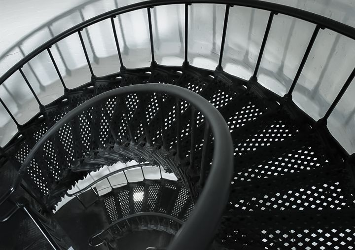 Lighthouse Stairs - Randall Messina