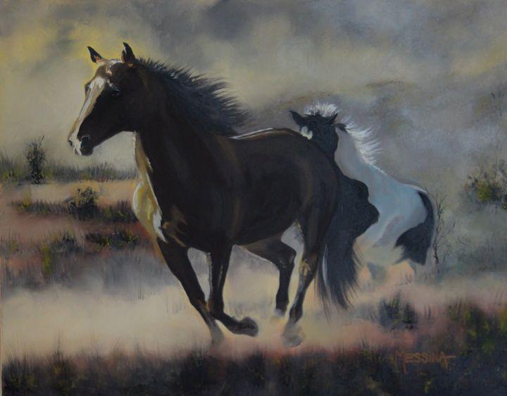 Horses and Freedom - Randall Messina