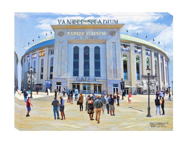 Yankee Stadium Wall Art - The Gallery Wrap Store