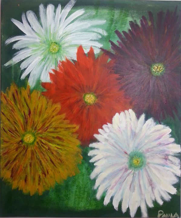 Chrysanthmums - Petals Art Shoppe