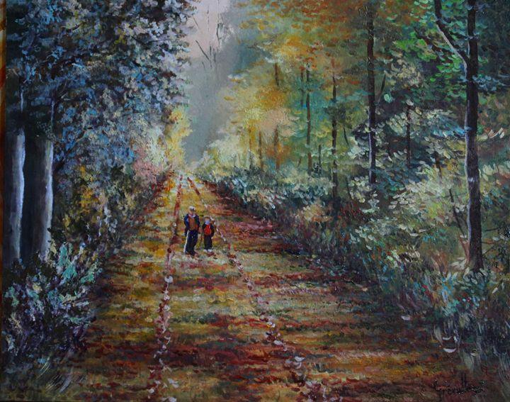 Promenade en foret - Grevellec