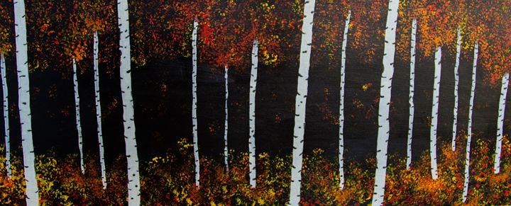 Birch Forest 2 - Barnes Art
