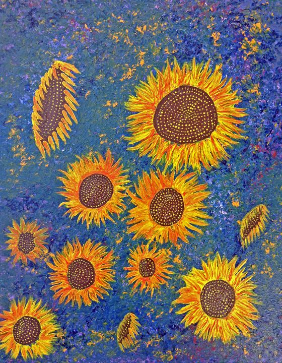 Sun Flowers - Barnes Art