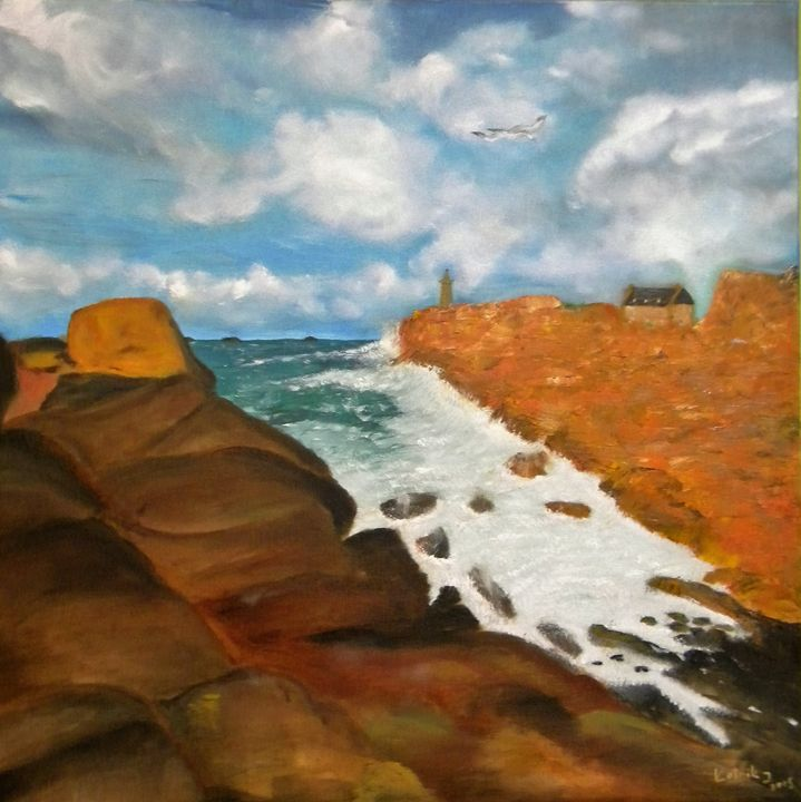 French coast - Igor Kotnik ArtGallery