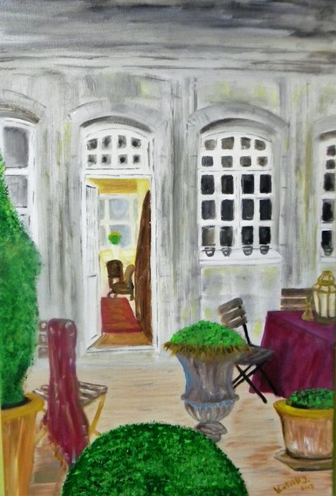 COURTYARD - Igor Kotnik ArtGallery