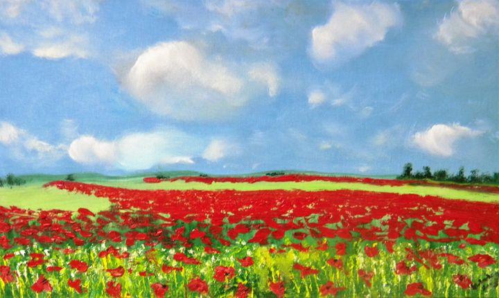field poppy - Igor Kotnik ArtGallery