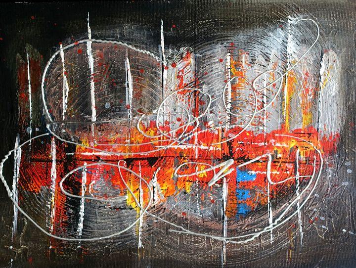 City on Fire - Axel Art