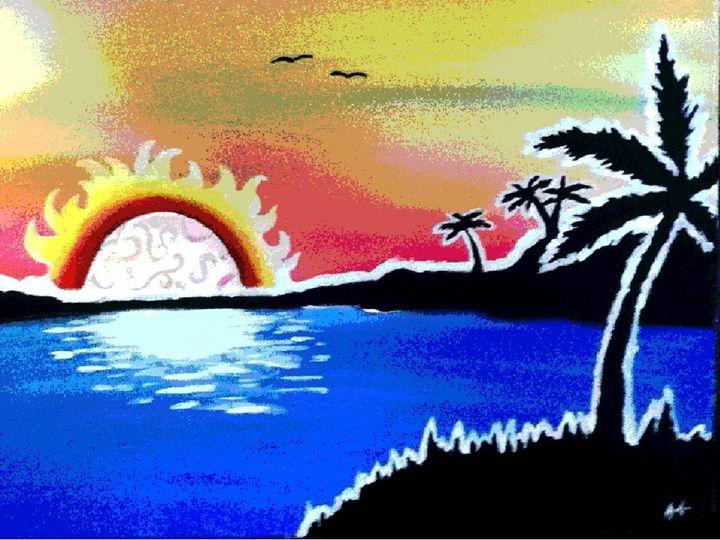 Sunset for the Lagoon - Azaria