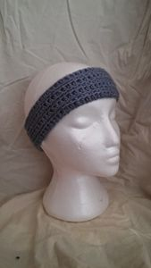 Hand crocheted headband