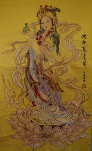 Guan Yin with Vase in hand(Y)/持瓶观音