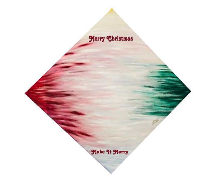 Make It Merry Greeting Card - Doug Bashara