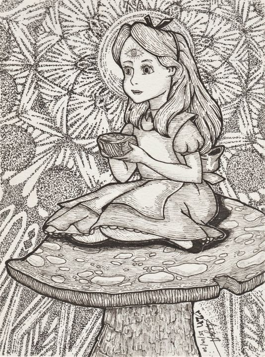 Alice in Trippyland - Ayrton's Sketches