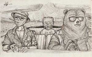 Astro and Al in Las Vegas - Ayrton's Sketches