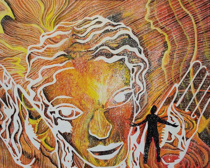 Soaking in her Radiance - Art of Ingo