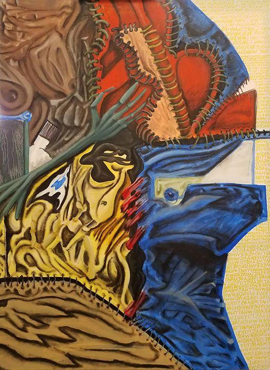 Man in the Mask - Art of Ingo